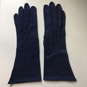 Vintage Blue Kufmann's Gloves